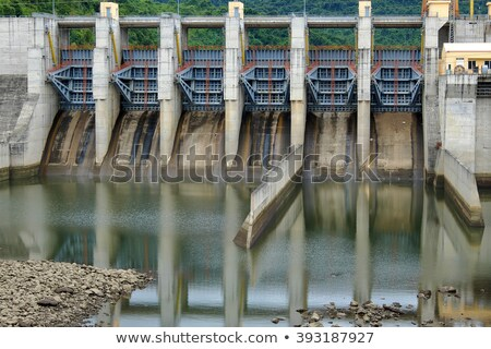 Song Bung hydroelectric plant, energy Stock photo © xuanhuongho