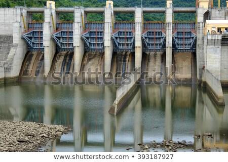 озеро · Калифорния · реке · энергии · власти · падение - Сток-фото © xuanhuongho