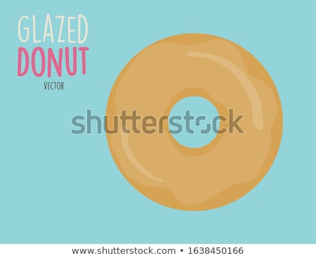 assorted glazed donut Stock photo © M-studio