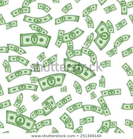 caer · dólar · vector · archivo · capas · mercado - foto stock © popaukropa