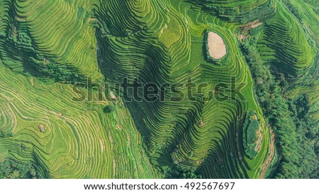 view of a village stock photo © is2