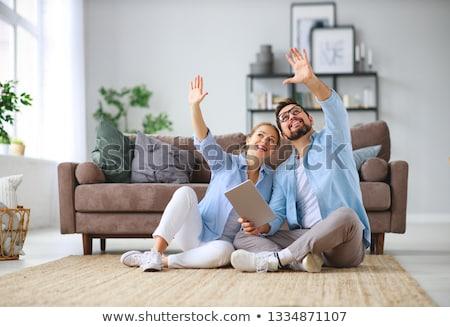 Rodziny para człowiek kobieta marzenia przyszłości Zdjęcia stock © studiostoks