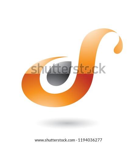 Laranja diversão letra i vetor ilustração isolado Foto stock © cidepix
