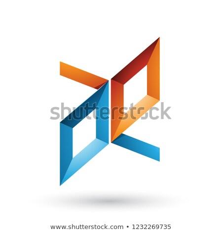 oranje · icon · vector · illustratie · geïsoleerd · witte - stockfoto © cidepix