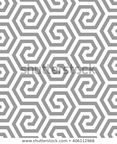 抽象的な シャープ 行 パターン 六角形 テクスチャ ストックフォト © SArts