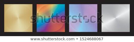 Vibrante volante línea patrones establecer negocios Foto stock © SArts