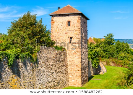 fortifications of Bergheim, Alsace, France Stock photo © borisb17