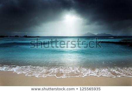 Dramatic beach landscape Stock photo © ldambies