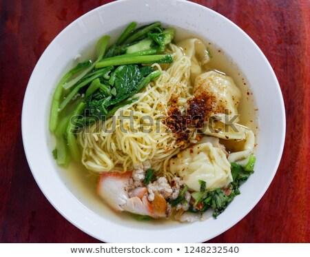 アジア · ヌードル · スープ · ラーメン · 新鮮な · 食品 - ストックフォト © zkruger