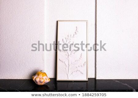 Pumpkin bas-relief Stock photo © aladin66