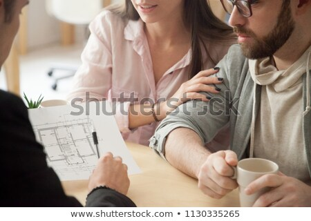 family consulting with an architect stock photo © photography33