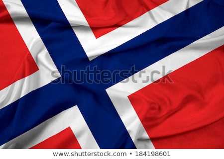 Zdjęcia stock: Norwegia · retro · banderą · norweski · vintage · grunge
