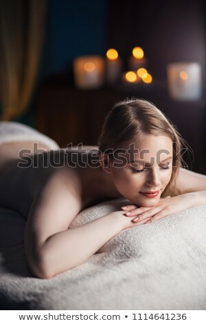 Portrait of calm woman relaxing after a spa treatment Stock photo © wavebreak_media