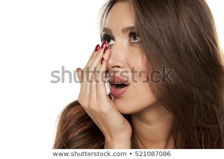 bad human skin closeup background stock photo © leonardi