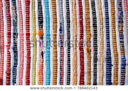 Szmata dywan piętrze papieru Zdjęcia stock © zzve