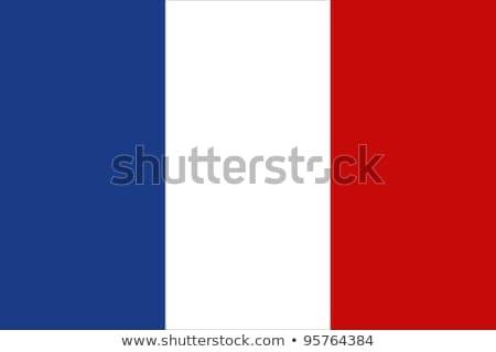 bandera · Francia · signo · viaje · país · botón - foto stock © Ecelop