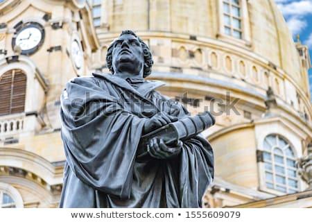 Martin Luther Statue Stock photo © chrisbradshaw