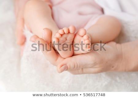 tiny foot stock photo © naumoid