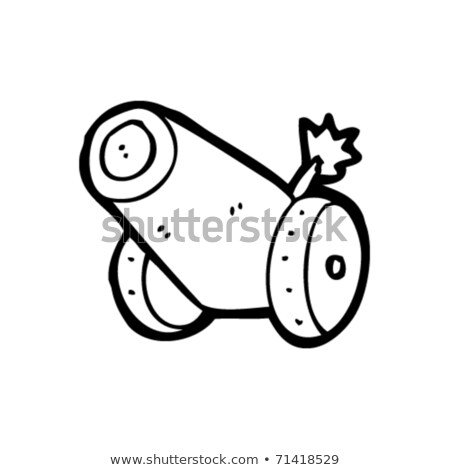 doodle cannon Stock photo © netkov1