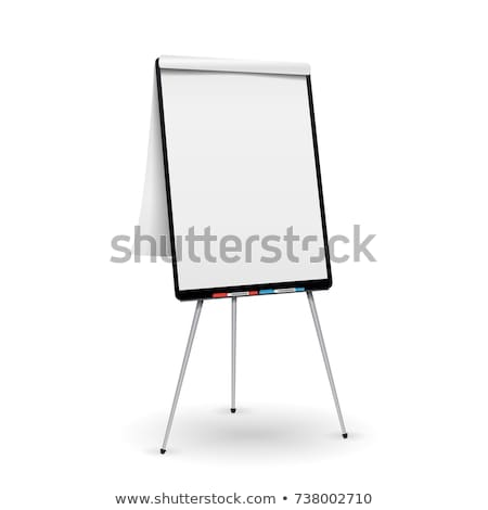 flip chart isolated Stock photo © ozaiachin