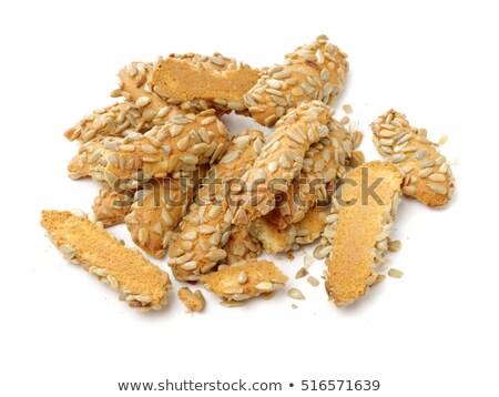 Gergelim vara lanches queijo comida Foto stock © Digifoodstock