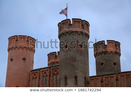 Vue porte ville Russie construction fort Photo stock © amok