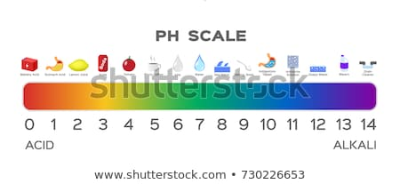 Colorful Paper stomach icons stock photo © Tefi