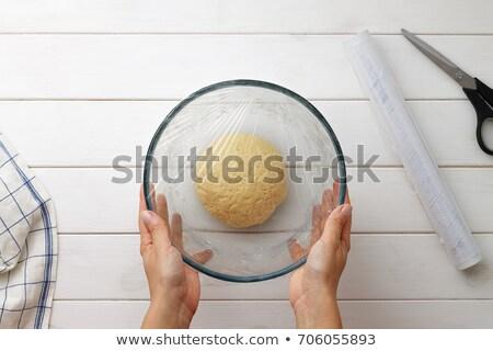Plastic tabel liefde hout Stockfoto © wavebreak_media