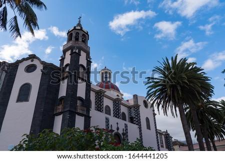 Immaculate Conception Church in La Orotava Stock photo © benkrut