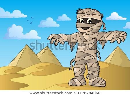 Mummy theme image 3 Stock photo © clairev