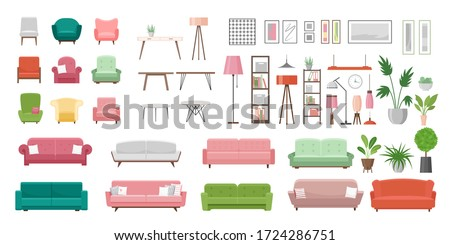 meubels · schets · schets · doodle - stockfoto © arkadivna
