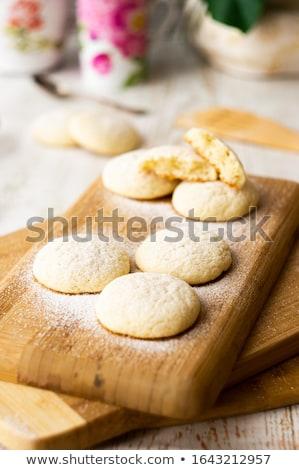 closeup homemade cookies stock photo © unkreatives