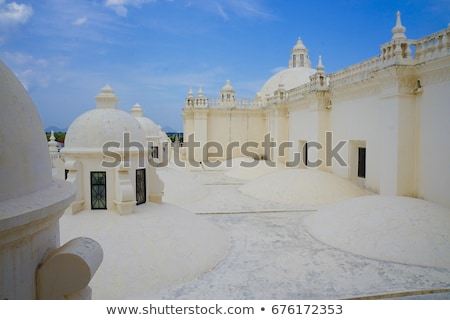 our lady of grace cathedral in leon nicaragua stock photo © benkrut