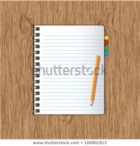 schrijven · oude · hout · business · kantoor - stockfoto © happydancing