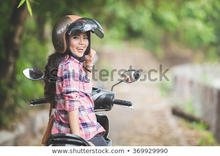 portrait of young people with motorbike Stock photo © photography33