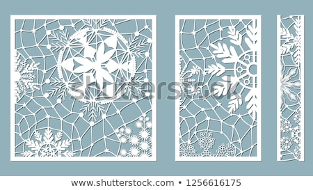 abstract christmas stamp background Stock photo © pathakdesigner