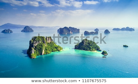 mer · Croatie · eau · faible · bateau · navire - photo stock © trala