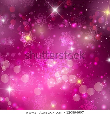 Pink Christmas Background With Snowflakes Eps 10 Stockfoto © Kjpargeter