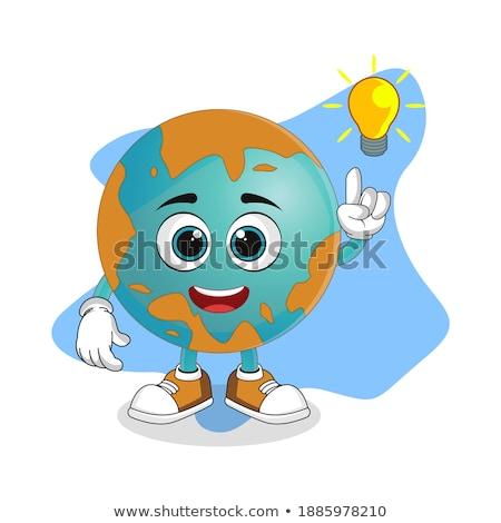 globe earth icons themes idea design stock photo © kiddaikiddee