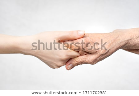 Wrinkled hands Stock photo © ocskaymark