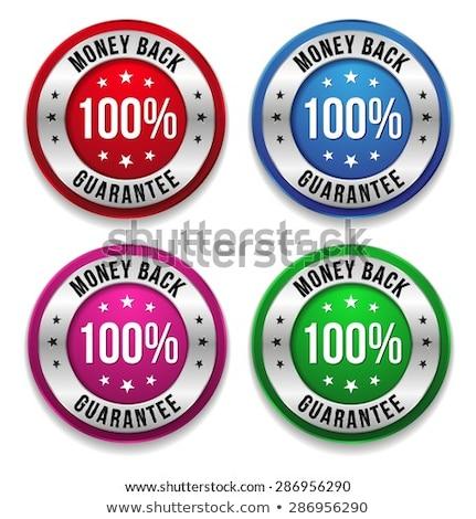 money back purple vector icon button stock photo © rizwanali3d