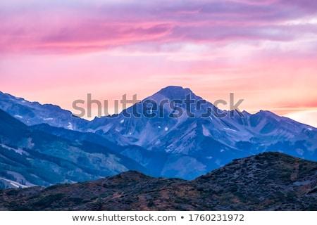 pink ridge Stock photo © nicemonkey