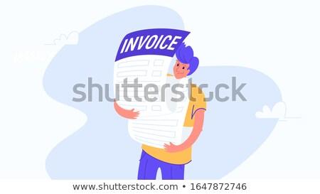 invoice message stock photo © fuzzbones0