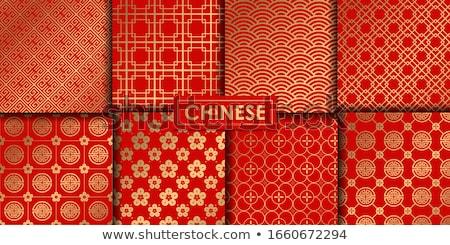 chinese seamless patterns stock photo © netkov1