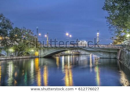 ラ スイス hdr 水 建物 ストックフォト © mariephoto
