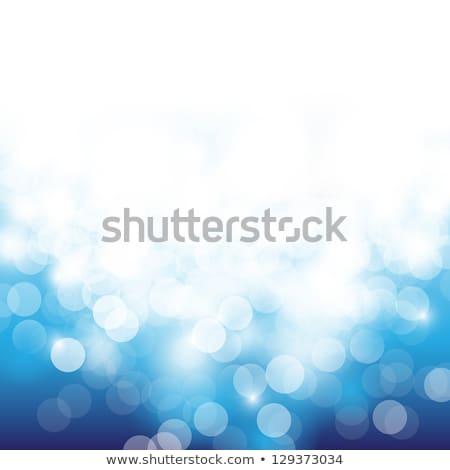 Abstract Blauw licht bokeh voorraad Stockfoto © punsayaporn