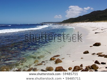 The cold, clear waters of the Atlantic Ocean at Maclear Beach, in the Cape of Good Hope area of the  Stock photo © zambezi