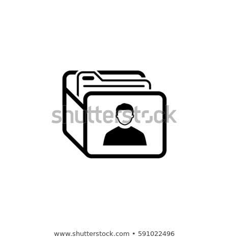 Customer Base Icon. Business Concept. Flat Design. Stock photo © WaD