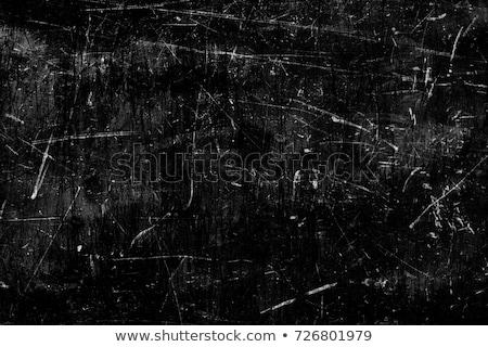 Fekete grunge fa textúra bent fal absztrakt Stock fotó © dariazu