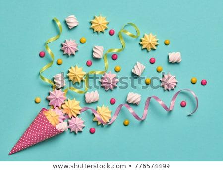 dulces · fuegos · artificiales · creativa · naturaleza · muerta · foto · tres - foto stock © fisher